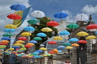 Зонтики во Львове