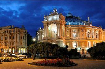 Вечерняя Одесса. Экскурсия с Аморетур
